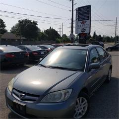 Used 2005 Honda Civic Sdn LX-G for sale in Cambridge, ON