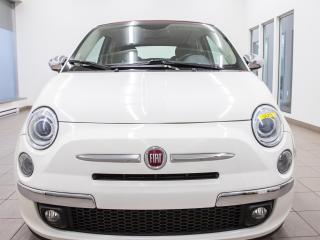 Used 2014 Fiat 500 C Convertible for sale in St-Jérôme, QC