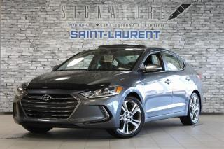 Used 2017 Hyundai Elantra Limited ULTM/FULL! for sale in St-Laurent, QC
