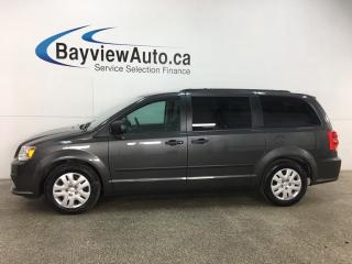 Used 2016 Dodge Grand Caravan SE/SXT - STOW 'N GO! A/C! CRUISE! FULL PWR GROUP! 48,000KMS! for sale in Belleville, ON