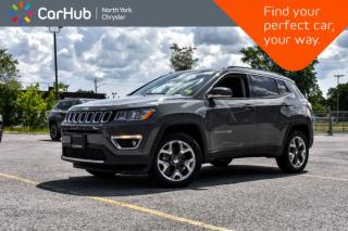 New 2019 Jeep Compass Limited|New Car|Pano_Sunroof|SiriusXM|Keyless_GO|18