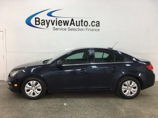 Used 2015 Chevrolet Cruze 1LT - AUTO! A/C! FULL PWR GROUP! BLUETOOTH! + MORE! for sale in Belleville, ON