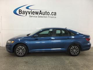 Used 2019 Volkswagen Jetta 1.4 TSI Highline - AUTO! HEATED LEATHER! PANOROOF! REVERSE CAM! for sale in Belleville, ON