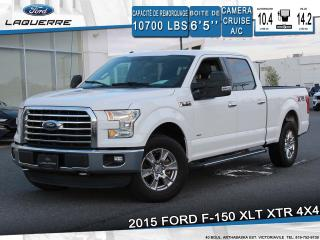 Used 2015 Ford F-150 XLT XTR 4X4**6 PLACES*CAMERA*BLUETOOTH*CRUISE*A/C* for sale in Victoriaville, QC