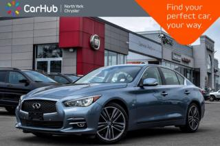 Used 2015 Infiniti Q50 |Sunroof|GPS|Backup.Cam|Bluetooth|KeylessGo|Heat.Frnt.Seats|Blindspot| for sale in Thornhill, ON