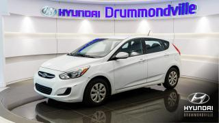 Used 2015 Hyundai Accent LE + GARANTIE + AUTOMATIQUE + A/C !! for sale in Drummondville, QC