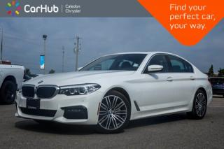 Used 2019 BMW 5 Series 530i xDrive|Navi|Pano Sunroof|Blind Spot|Backup Cam|Bluetooth|Leather|19