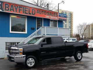 Used 2017 Chevrolet Silverado 2500 LT Crew Cab 4x4 Long Box **Duramax Diesel/Reverse Camera** for sale in Barrie, ON
