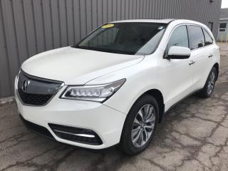 Used 2016 Acura MDX Technology Package TECH PACKAGE V6 EDITION WITH ALL WHEEL DRIVE, SUNROOF, BACKUP CAMERA! for sale in Charlottetown, PE