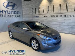 Used 2013 Hyundai Elantra GLS+TOIT+BANCS CHAUF+BLUETOOTH+MAGS for sale in Sherbrooke, QC