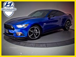 Used 2017 Ford Mustang GT, CALIFORNIA SPÉCIAL, NAV CAM DE RECUL for sale in Brossard, QC