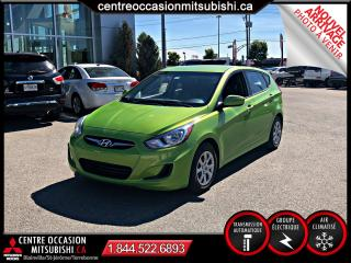 Used 2014 Hyundai Accent GL 5 PORTE A/C GR ELECTRIQUE for sale in St-Jérôme, QC