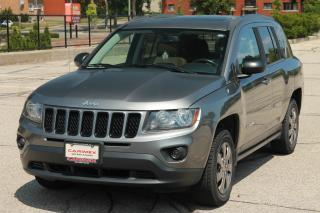 Used 2013 Jeep Compass Sport/North 4x4 | Sunroof | Heated Seats | CERTIFIED for sale in Waterloo, ON