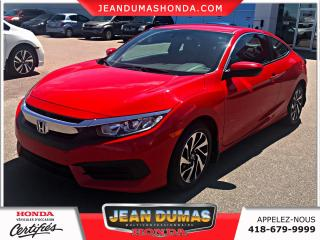 Used 2016 Honda Civic LX 2 portes CVT for sale in St-Félicien, QC