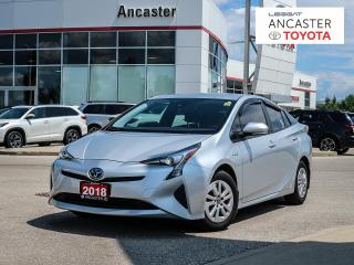 Used 2018 Toyota Prius 1 OWNER|BLUETOOTH|BACKUP CAMERA|NO ACCIDENTS for sale in Ancaster, ON