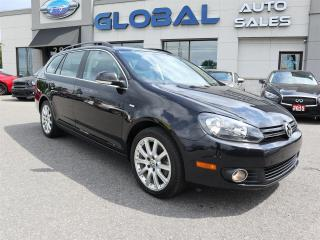 Used 2014 Volkswagen Golf Sportwagon 2.0L TDI WOLFSBURG EDITION FULL POWER GROUP. for sale in Ottawa, ON