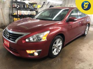 Used 2015 Nissan Altima SL * Navigation * Sunroof * Leather * Remote start * Heated front seats/steering wheel * Bose sound system * Push Button Start * Rear Collision Warnin for sale in Cambridge, ON