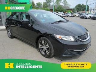 Used 2015 Honda Civic LX AUT A/C MAGS for sale in St-Léonard, QC