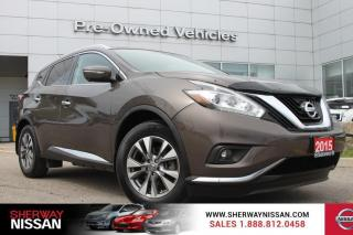 Used 2015 Nissan Murano Clean carproof,only 38000kms. Nissan certified preowned. for sale in Toronto, ON
