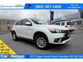 Used 2018 Mitsubishi RVR SE | 4WD | REAR CAM | SAT RADIO | HEATED SEATS for sale in Hamilton, ON