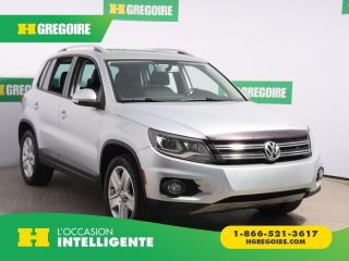 Used 2012 Volkswagen Tiguan COMFORTLINE AWD A/C for sale in St-Léonard, QC