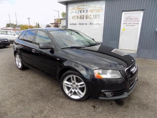 Used 2011 Audi A3 ***PREMIUM,S-LINE,QUATTRO,AUTOMATIQUE,CU for sale in Longueuil, QC