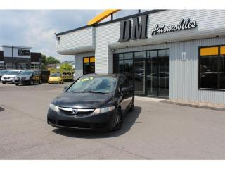 Used 2010 Honda Civic 2010 HONDA - 4DR for sale in Salaberry-de-Valleyfield, QC