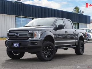 Used 2018 Ford F-150 XLT,4X4,SUPERCREW,NAVI,PANO,R/V CAM,LIFTED for sale in Barrie, ON