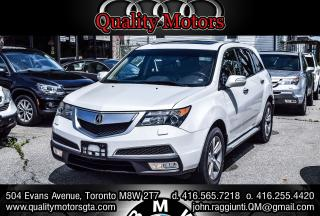 Used 2012 Acura MDX Tech pkg NAV DVD for sale in Etobicoke, ON