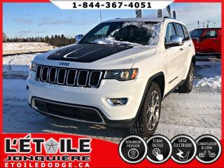 Used 2018 Jeep Grand Cherokee LIMITED,  DEMARREUR A DISTANCE, SIEGES C for sale in Jonquière, QC