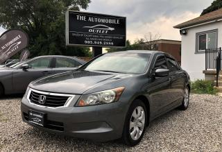 Used 2010 Honda Accord EX-L LEATHER SUNROOF NO ACCIDENT for sale in Mississauga, ON