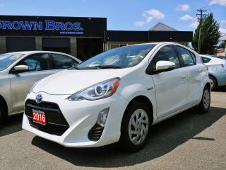 Used 2016 Toyota Prius c Local, GREAT fuel economy for sale in Surrey, BC
