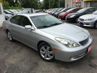 Used 2005 Lexus ES 330 LEATHER/ SUNROOF/ NAVIGATION/ ALLOYS/ LIKE NEW! for sale in Scarborough, ON