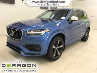 Used 2017 Volvo XC90 T6 R-DESIGN  ROUES 20