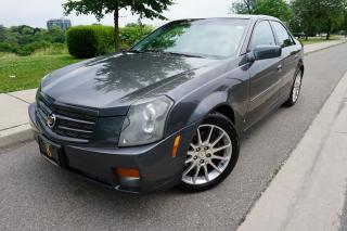 Used 2007 Cadillac CTS RARE / 6 SPD MANUAL / NO ACCIDENTS / LOW KM'S for sale in Etobicoke, ON