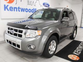 Used 2012 Ford Escape Limited 4WD with a sunroof, heated power leather seats, keyless entry for sale in Edmonton, AB