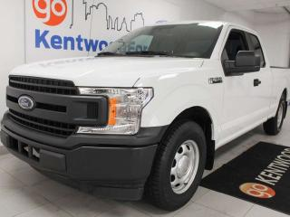 Used 2018 Ford F-150 XL 4x2 with a back up cam. Great work truck or credit builder for sale in Edmonton, AB