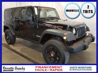Used 2011 Jeep Wrangler Rubicon + 2 Toits+ for sale in Cowansville, QC