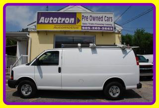 Used 2013 Chevrolet Express 2500 3/4 Ton Cargo Van, Hitch, Shelves, Roof Rack for sale in Woodbridge, ON