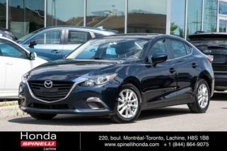 Used 2015 Mazda MAZDA3 GS MANUELLE MAGS BLUETOOTH MANUELLE MAGS BLUETOOTH CRUISE for sale in Lachine, QC
