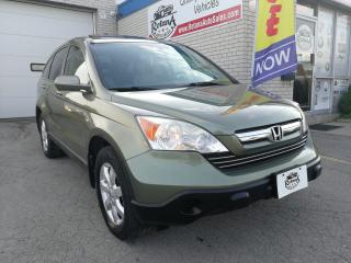 Used 2008 Honda CR-V Accident Free | AWD| Navi | Backup Cam | Warranty for sale in Oakville, ON