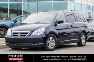 Used 2006 Honda Odyssey EX-L CUIR  PROPRE CUIR MAGS 7 PASS for sale in Lachine, QC