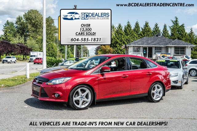 2012 Ford Focus Titanium, Navigation, Bluetooth, Leather, Loaded!