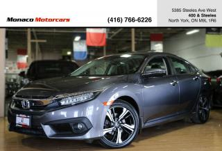 Used 2016 Honda Civic TOURING - LEATHER|SUNROOF|BACKUP|NAVI|LANEKEEP for sale in North York, ON
