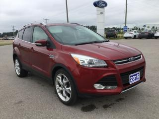 Used 2015 Ford Escape Titanium | 4WD | Panoramic Roof for sale in Harriston, ON