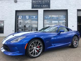 Used 2014 Dodge Viper GTS 640HP Navigation Immaculate Condition for sale in Guelph, ON