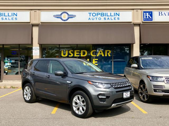 2016 Land Rover Discovery Sport HSE, Navi, Fully Loaded, No Accidents