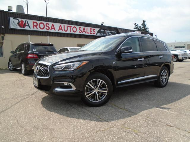 2016 Infiniti QX60 AWD 7 PASS LOW KM NO ACCIDENT LEATHER NEW 4 BRAKES