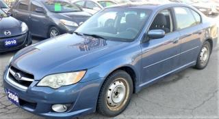 Used 2008 Subaru Legacy 2.5I for sale in Hamilton, ON