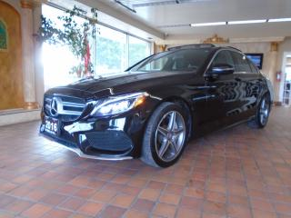 Used 2016 Mercedes-Benz C-Class AWD 4MATIC NAVIGATION B-CAM PANORAMIC NO ACCIDENT for sale in Oakville, ON